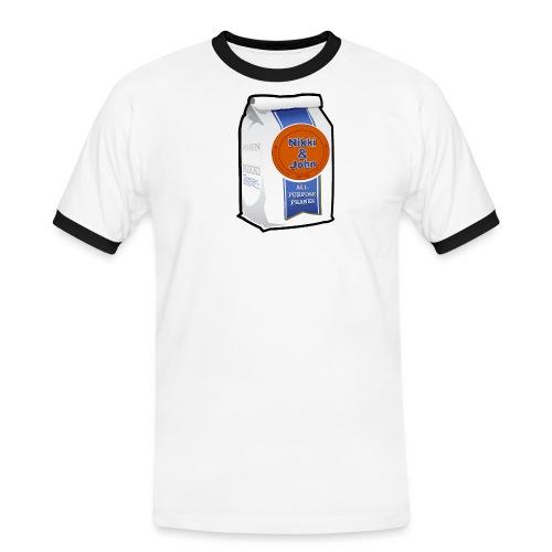 Nikki and John All Purpose Pranks Mens - Men's Ringer Shirt