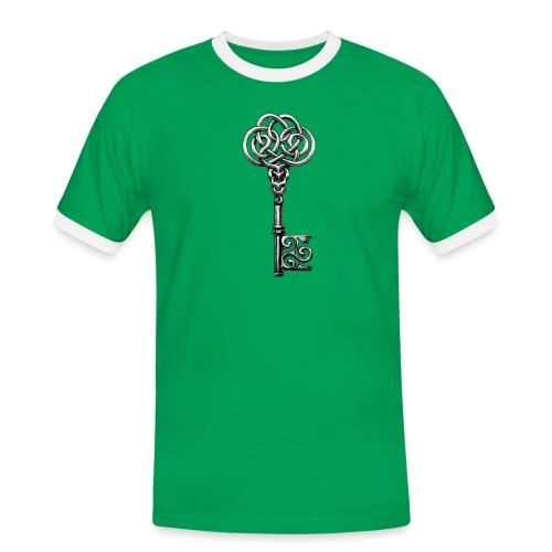 CHAVE-celtic-key-png - Camiseta contraste hombre