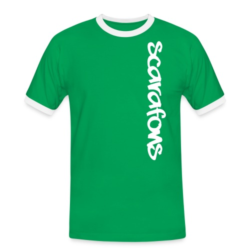 Scarafons Bandshirt - Männer Kontrast-T-Shirt