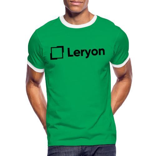 Leryon Text Brand - Men's Ringer Shirt
