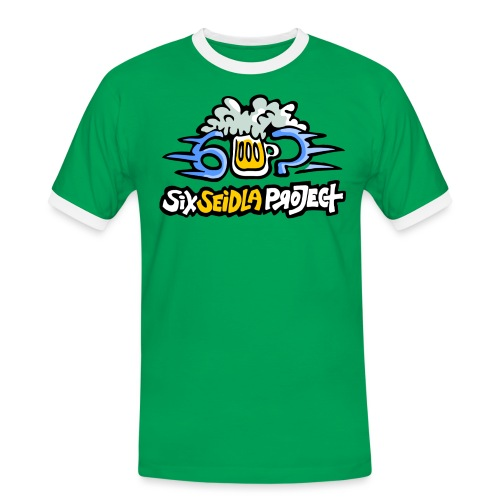 SixSeidlaProject Normal - Männer Kontrast-T-Shirt