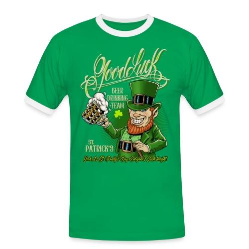 Día de San Patricio - Camiseta contraste hombre