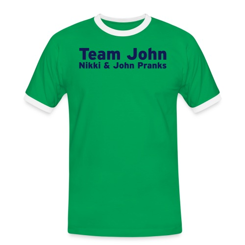 Team John - Mens - Men's Ringer Shirt