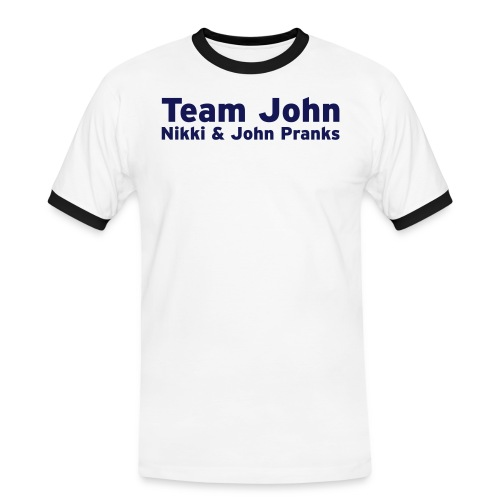 Team John - Mens - Men's Ringer Shirt