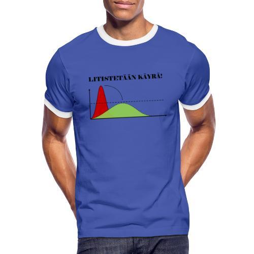 Flatten the curve - Men's Ringer Shirt