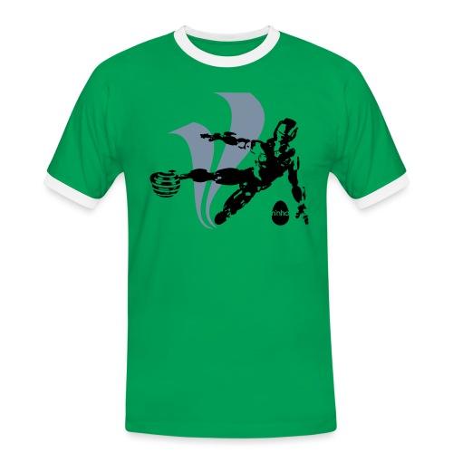 Football Robot - Maglietta Contrast da uomo