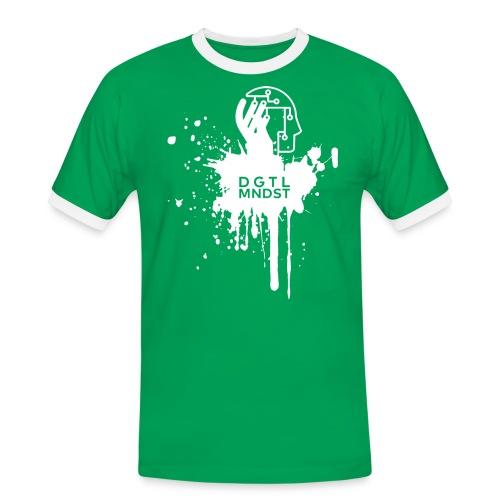 DGTL MNDST - Männer Kontrast-T-Shirt