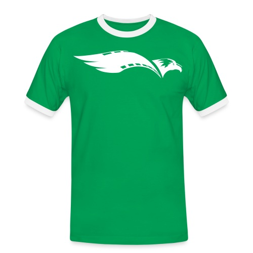 M I T Academy Logo2 - Männer Kontrast-T-Shirt