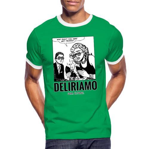 Why Don't You Have Any Techno? - Maglietta Contrast da uomo