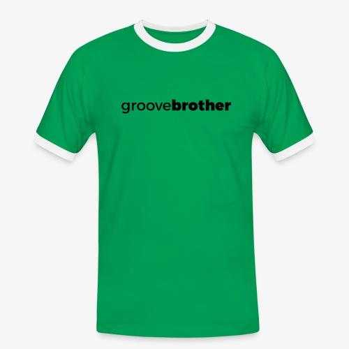 groovebrother - Männer Kontrast-T-Shirt