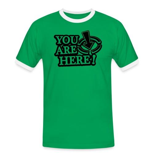 You are here! - Men's Ringer Shirt