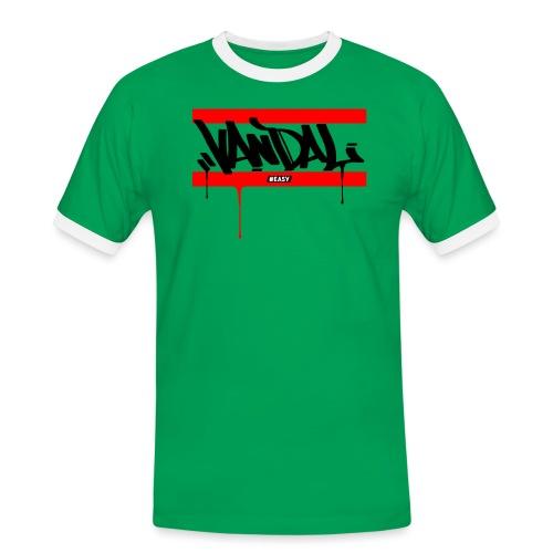 #EASY Graffiti Vandal T-Shirt - Maglietta Contrast da uomo