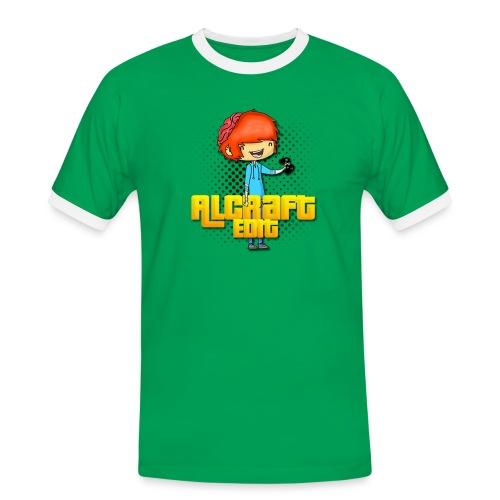Diseño Simple AlCraft Edit - Camiseta contraste hombre