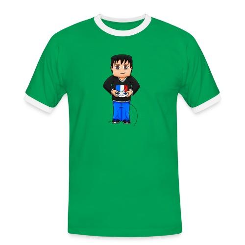 MaximeGaming - T-shirt contrasté Homme