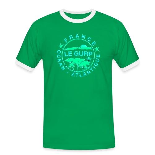 2018gurpiepngpimpgreen - Männer Kontrast-T-Shirt