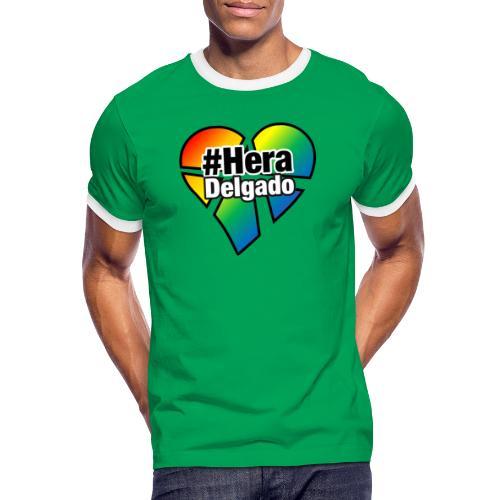 #HeraDelgado - Männer Kontrast-T-Shirt