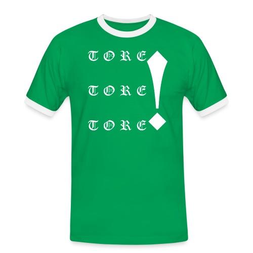 Tore! Tore! Tore! - Männer Kontrast-T-Shirt