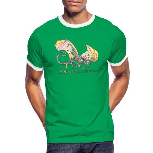 Bonedragon - Männer Kontrast-T-Shirt