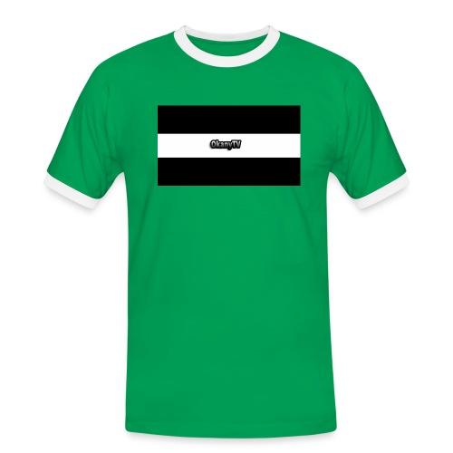 OkanyTV - Männer Kontrast-T-Shirt