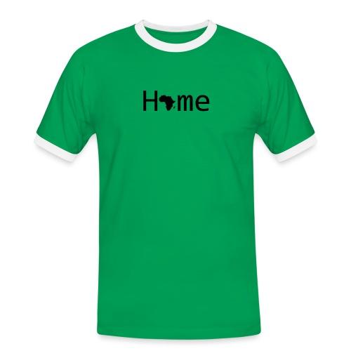 Sweet Home Africa - Männer Kontrast-T-Shirt