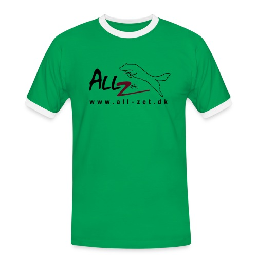 All Zet Logo - Herre kontrast-T-shirt