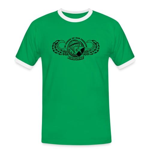 HAF tshirt back2015 - Men's Ringer Shirt