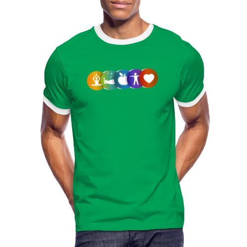 Salud & Bienestar - Camiseta contraste hombre