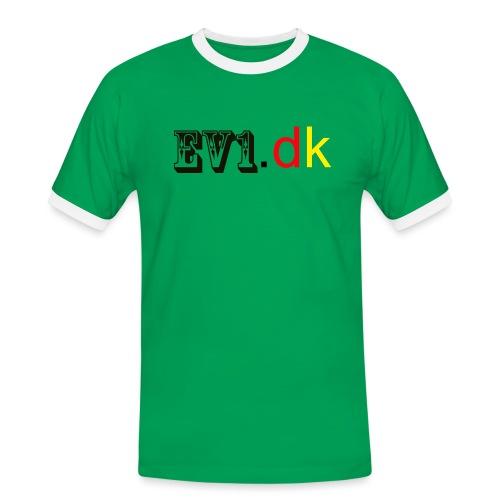 ev1 - Herre kontrast-T-shirt