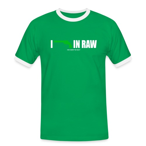 I shoot in RAW You know the Rest - Männer Kontrast-T-Shirt