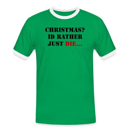 Christmas joy - Men's Ringer Shirt