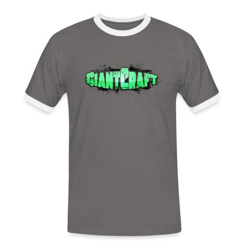 Vandflaske - GiantCraft - Herre kontrast-T-shirt
