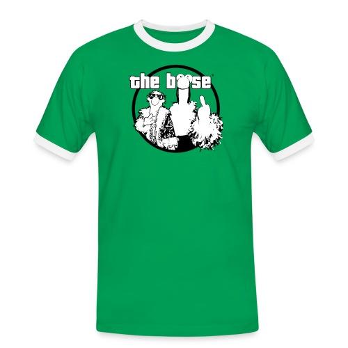 theboese logo - Männer Kontrast-T-Shirt