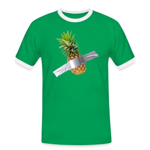 Pineapple Art - Maglietta Contrast da uomo