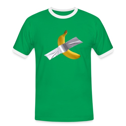 Banana art - Maglietta Contrast da uomo