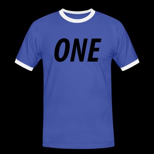 WEAREONE x LETTERS - Mannen contrastshirt