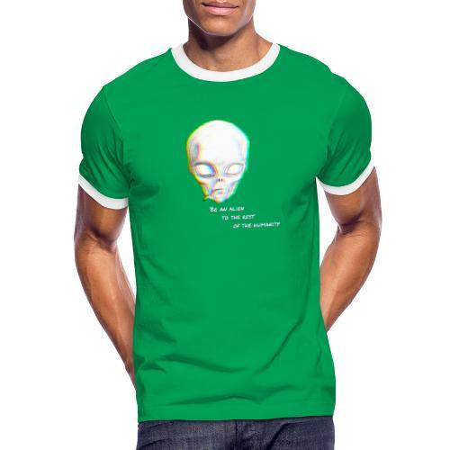 Alien to the world - Camiseta contraste hombre