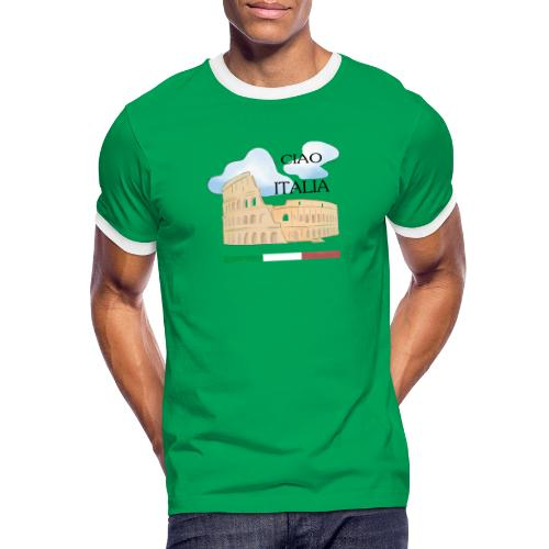 hello italy T-Shirts - Men's Ringer Shirt