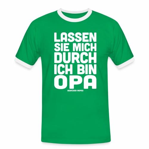 Opa - Männer Kontrast-T-Shirt