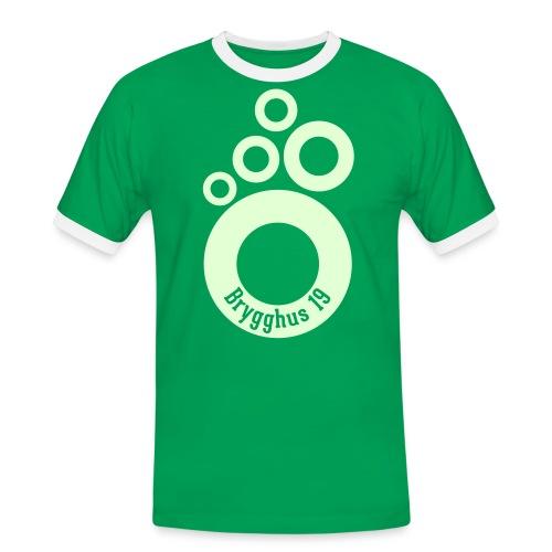 Brygghus 19 Grillförkläde - Kontrast-T-shirt herr