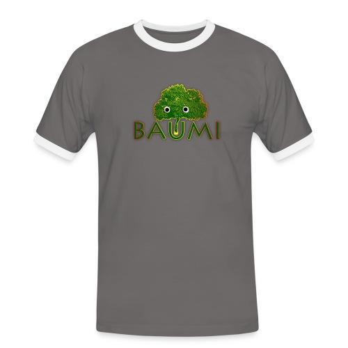 Baumi - Männer Kontrast-T-Shirt