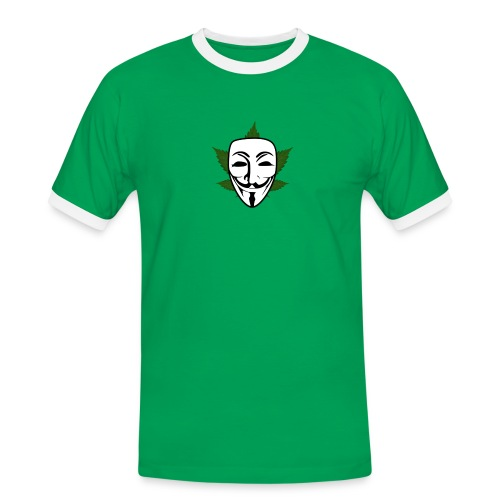 Anonymous - Mannen contrastshirt