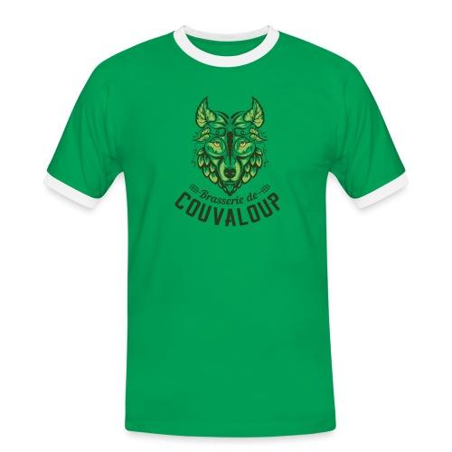 Original Green Logo - T-shirt contrasté Homme