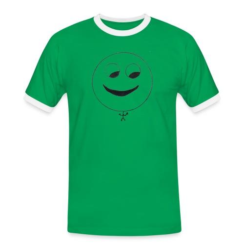 Janic Shop - Männer Kontrast-T-Shirt