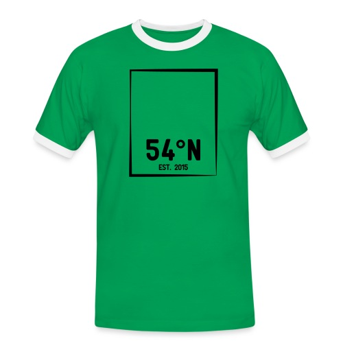 54°Nord square t-shirt - Herre kontrast-T-shirt