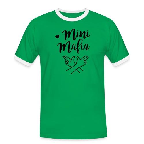 Mini-Mafia Langarmshirt (Teenager) - Männer Kontrast-T-Shirt