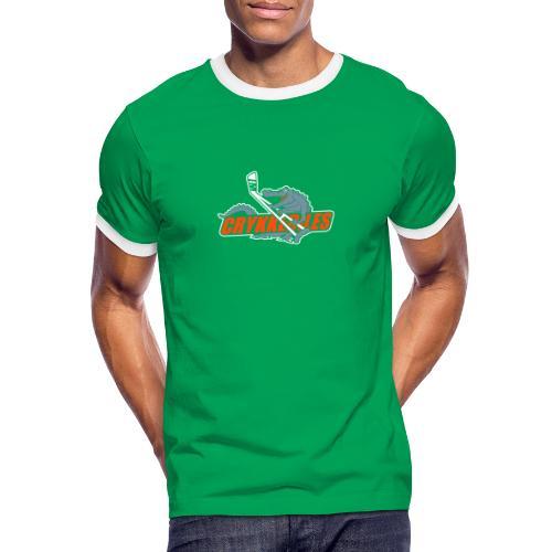 crykkedilescs - Herre kontrast-T-shirt
