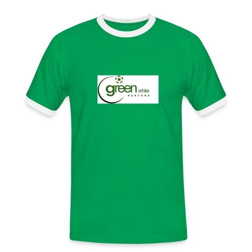 396290 260682467331570 133181840081634 6 - Männer Kontrast-T-Shirt