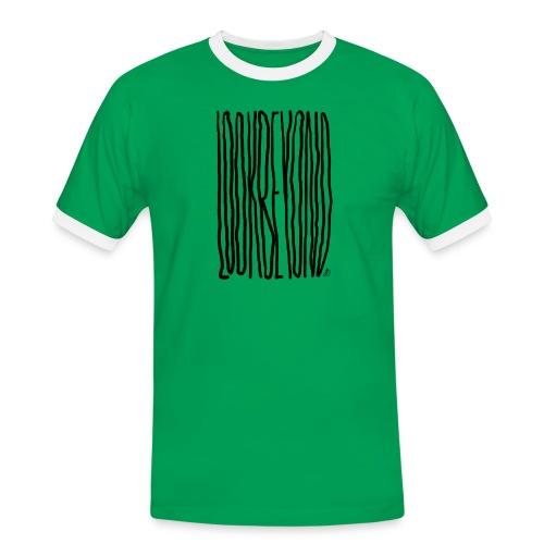 Look Beyond - Herre kontrast-T-shirt