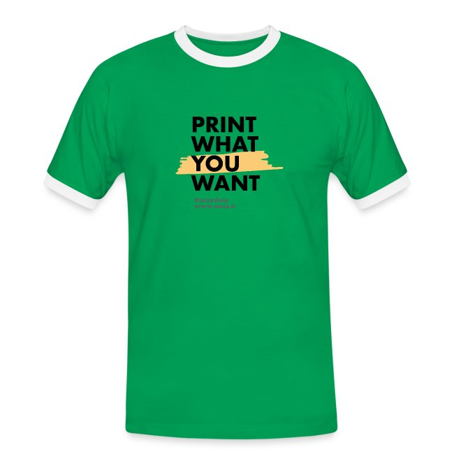 Print what you want