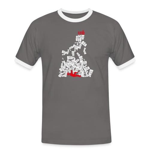 diretravolto - Maglietta Contrast da uomo